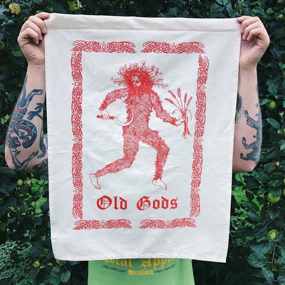 Image of Old gods tea towels