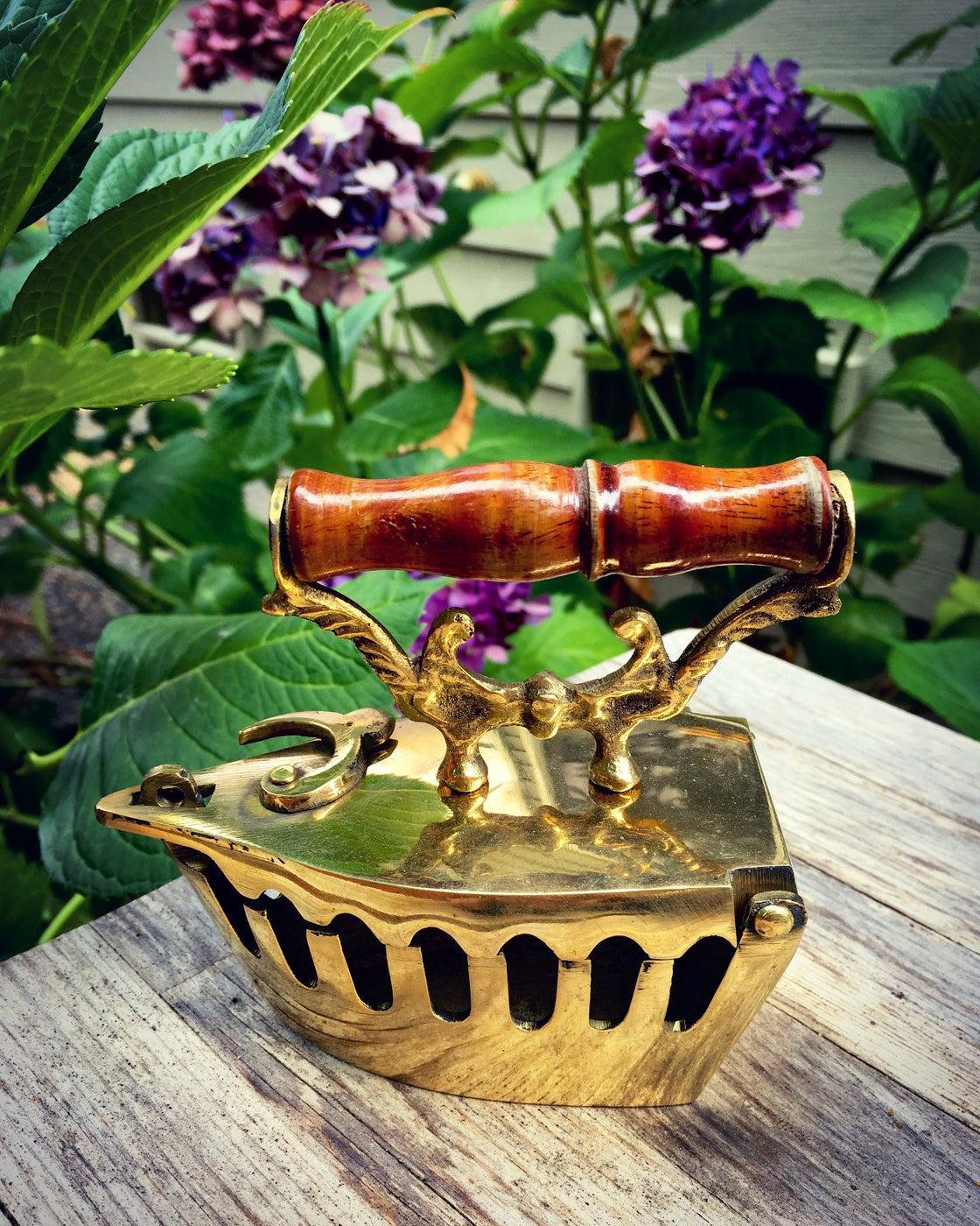 Image of Vintage Style brass Iron