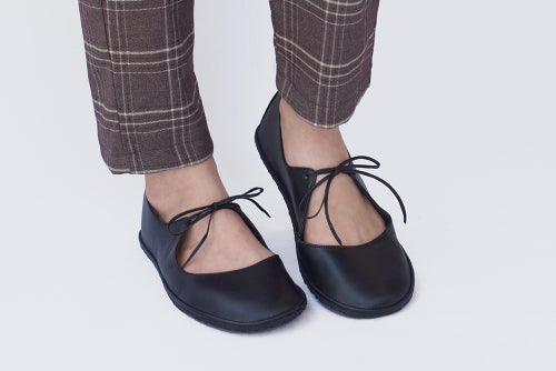 Image of Night Ballet flats - in Matte black