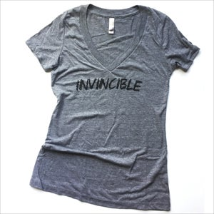 Image of The Invincible Tee (Ladies)