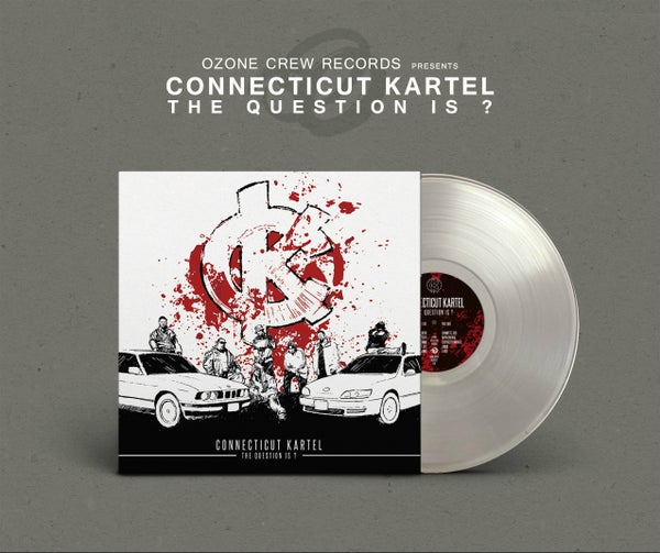 Image of Connecticut Kartel - The Question Is? (Transparent Clear)