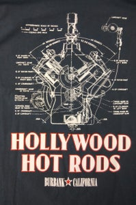 Image of The Engine- Blue T-Shirt