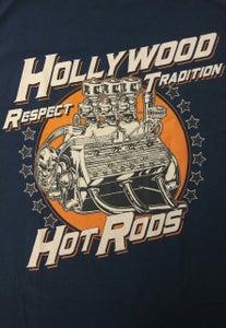 Image of Full Race Flatty- Blue T-Shirt