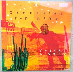 Image of Something for Kate - 'Desert Lights' vinyl album - VERY limited! Shrink wrapped.