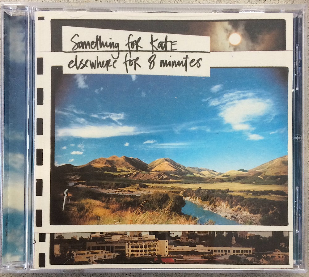 Image of Something for Kate - 'Elsewhere for 8 Minutes' Original CD 1997 VERY LIMITED