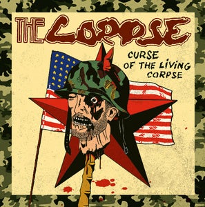 Image of THE CORPSE Curse Of The Living Corpse LP