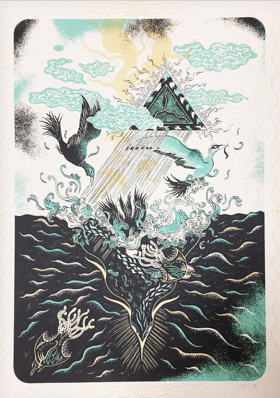 "Image of Artprint ""DIVING TRIP"" (2017)"