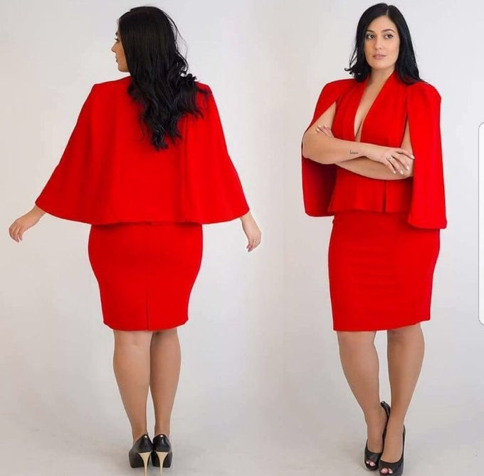 Image of Capes dress