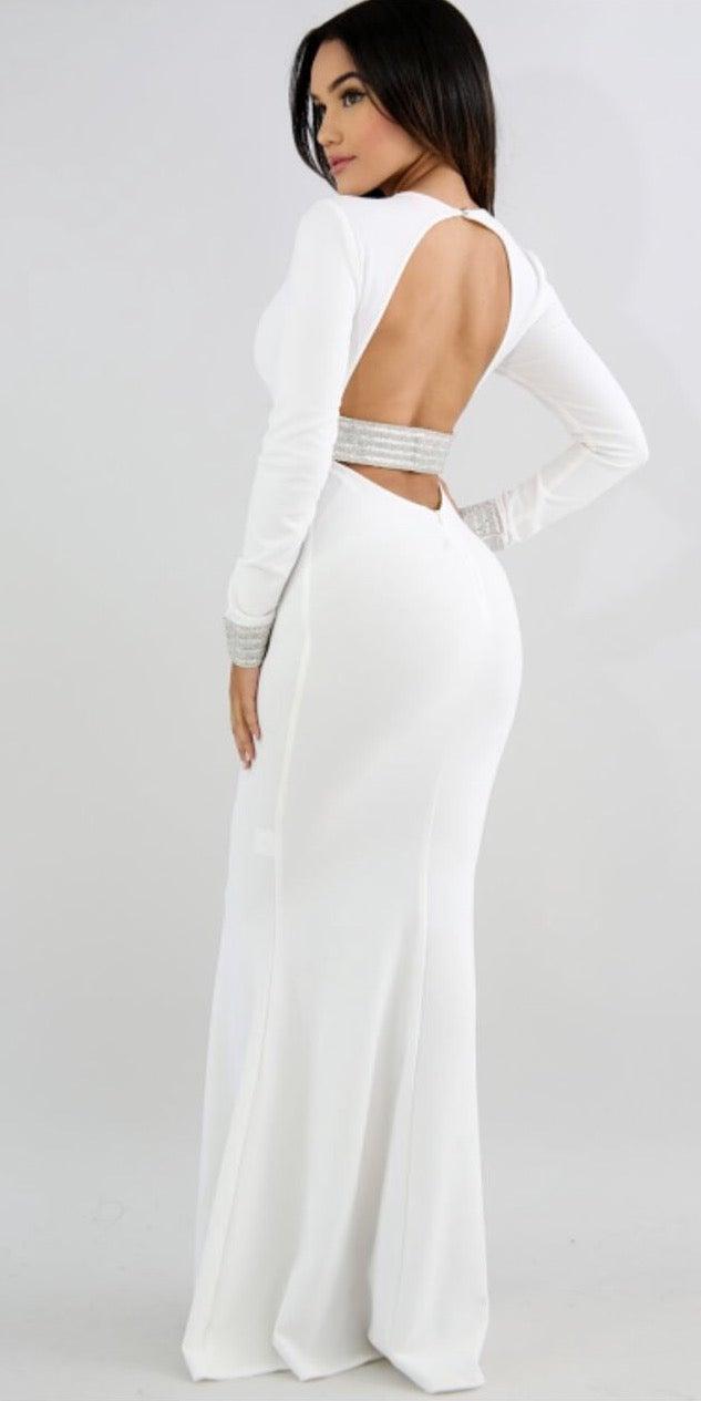 Image of Bling back dress