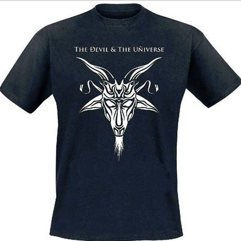 Image of The Devil & The Universe - Goat Head T-Shirt (pre-order)