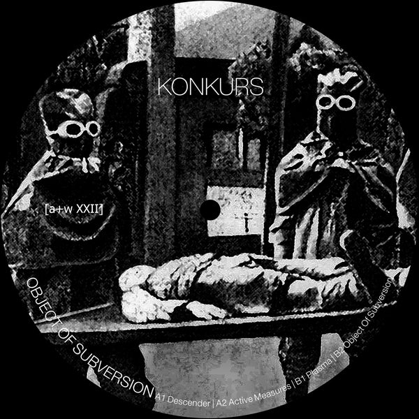 "Image of [a+w XXII] Konkurs - Object Of Subversion 12"" (pre-order)"
