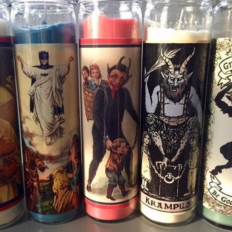 Image of Prayer Candle labels