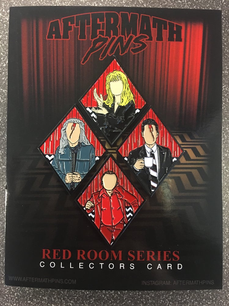 Image of Full Set of Red Room Series Pins