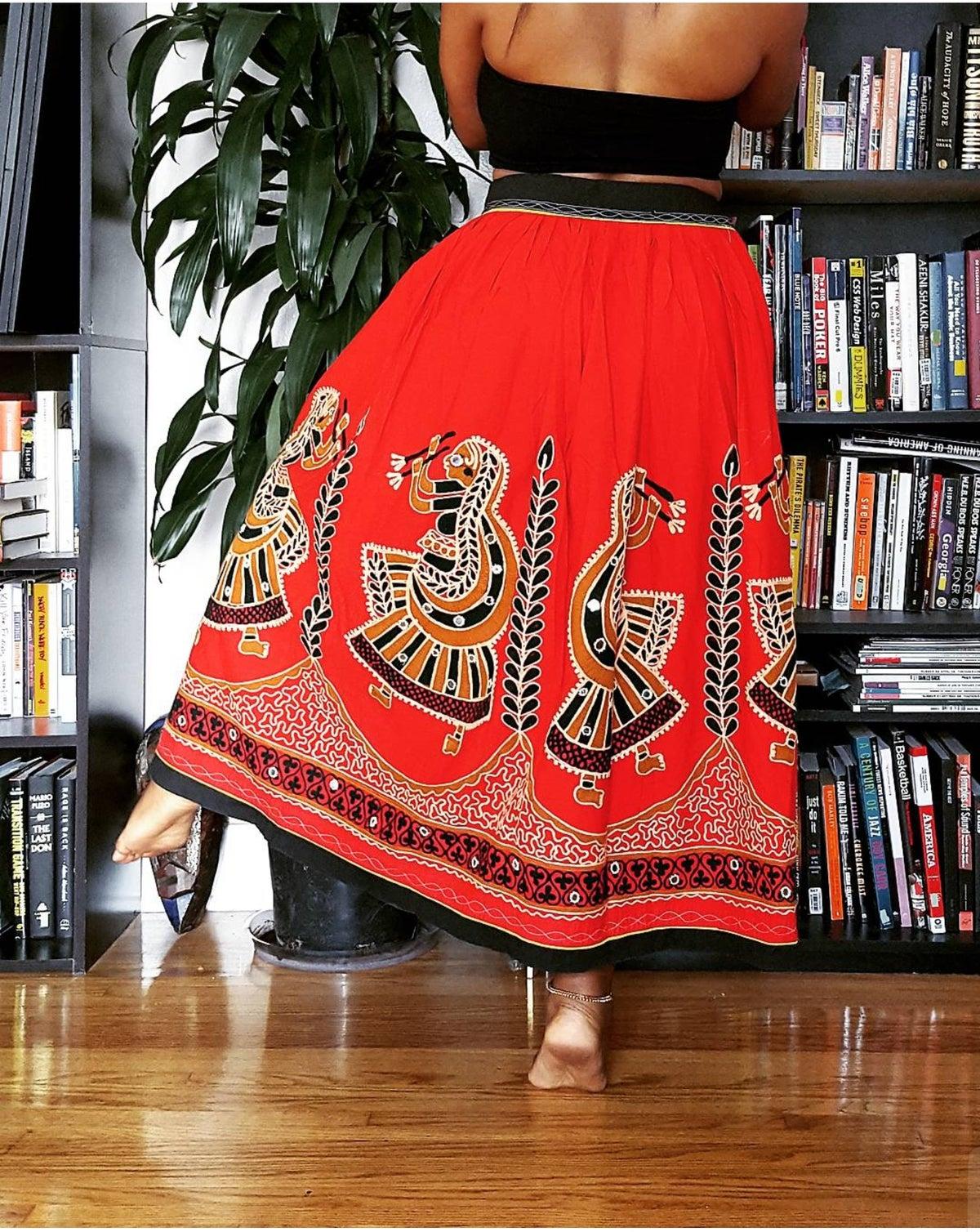 Image of Vintage Tribal Dance Skirt