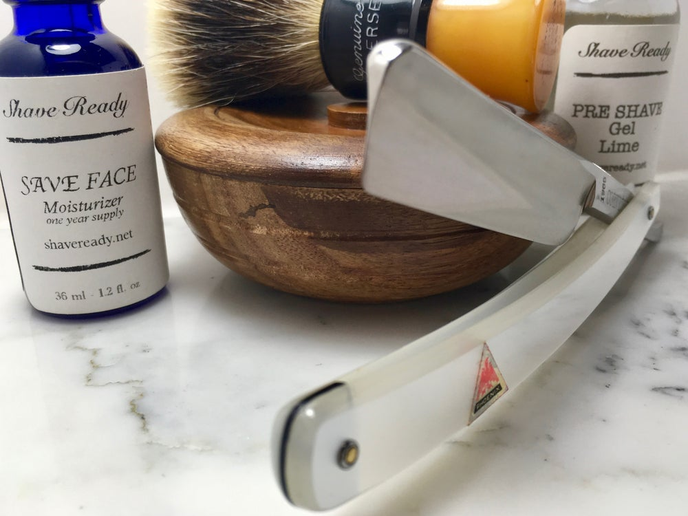 Image of Corvette Japanese NOS Shave Ready Straight Razor
