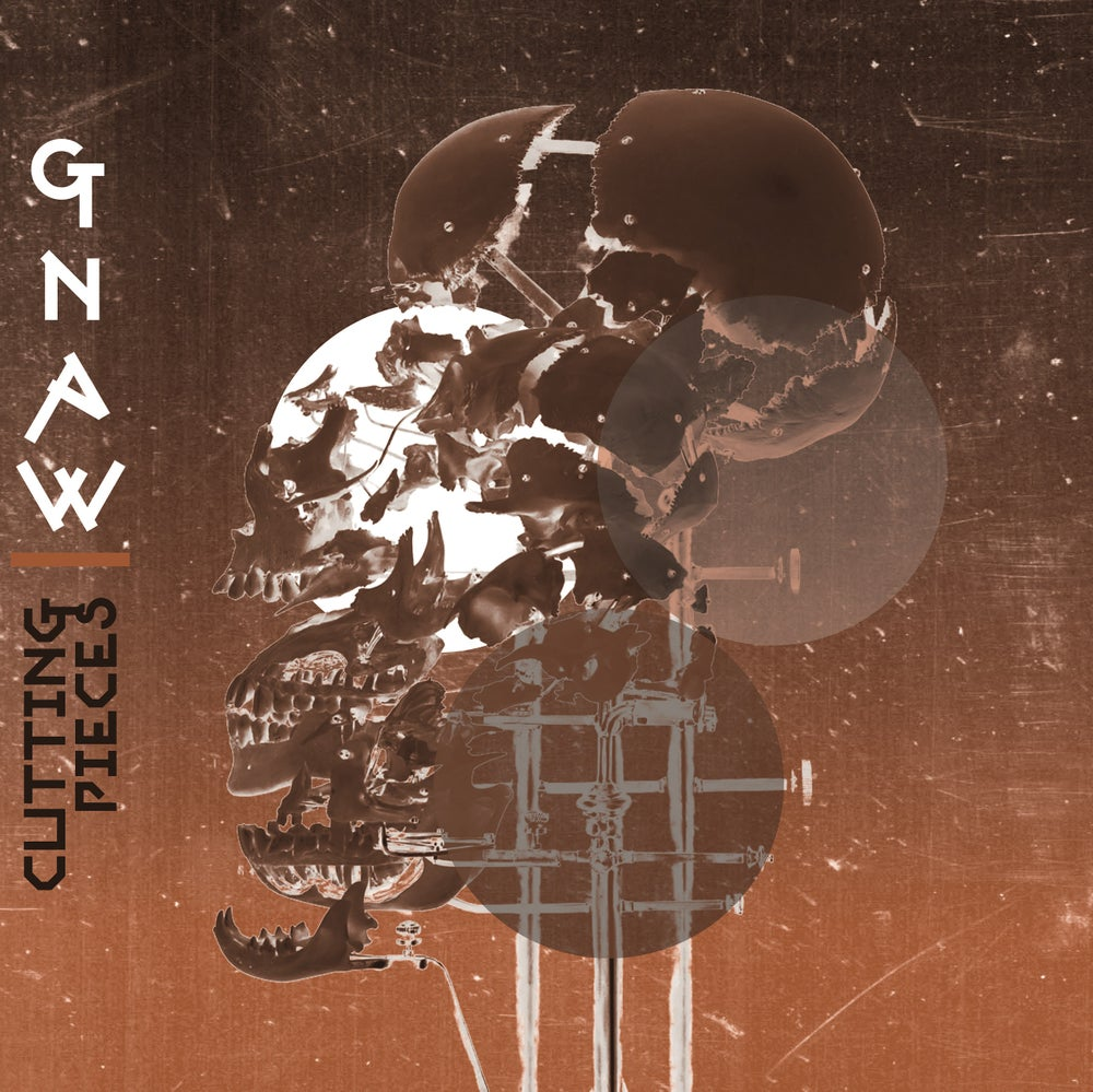 Image of Gnaw - Cutting Pieces LP & T-Shirt Package - Preorder