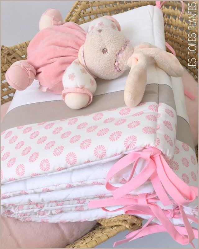 Image of EN STOCK: Tour de lit pour lit de 140x70