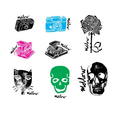 Image of moblow 32 sticker pack