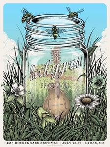 Image of 45th Rockygrass Festival Poster