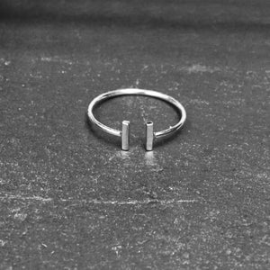 Image of Bipolar ring 925 silver