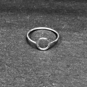 Image of Small pi ring 925 silver