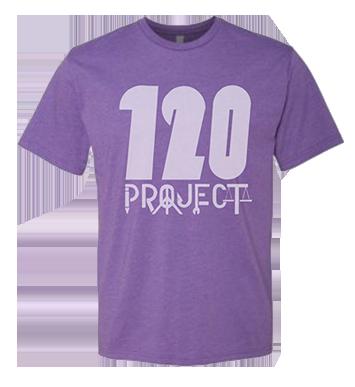 Image of Purple Rush 120 Project Shirt