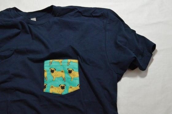 Image of Pug Pocket Tee
