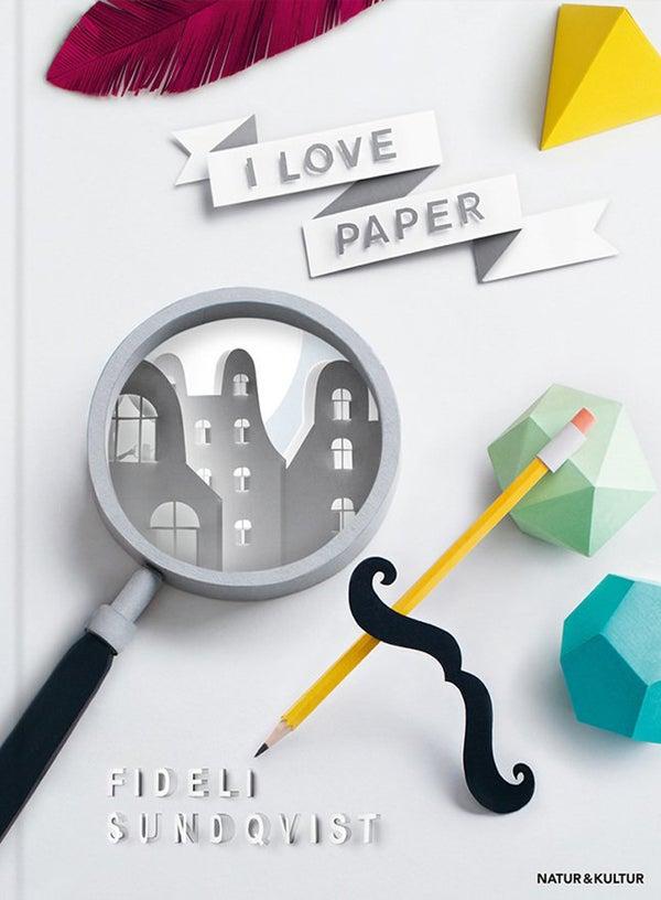 Image of I love paper (Swedish)