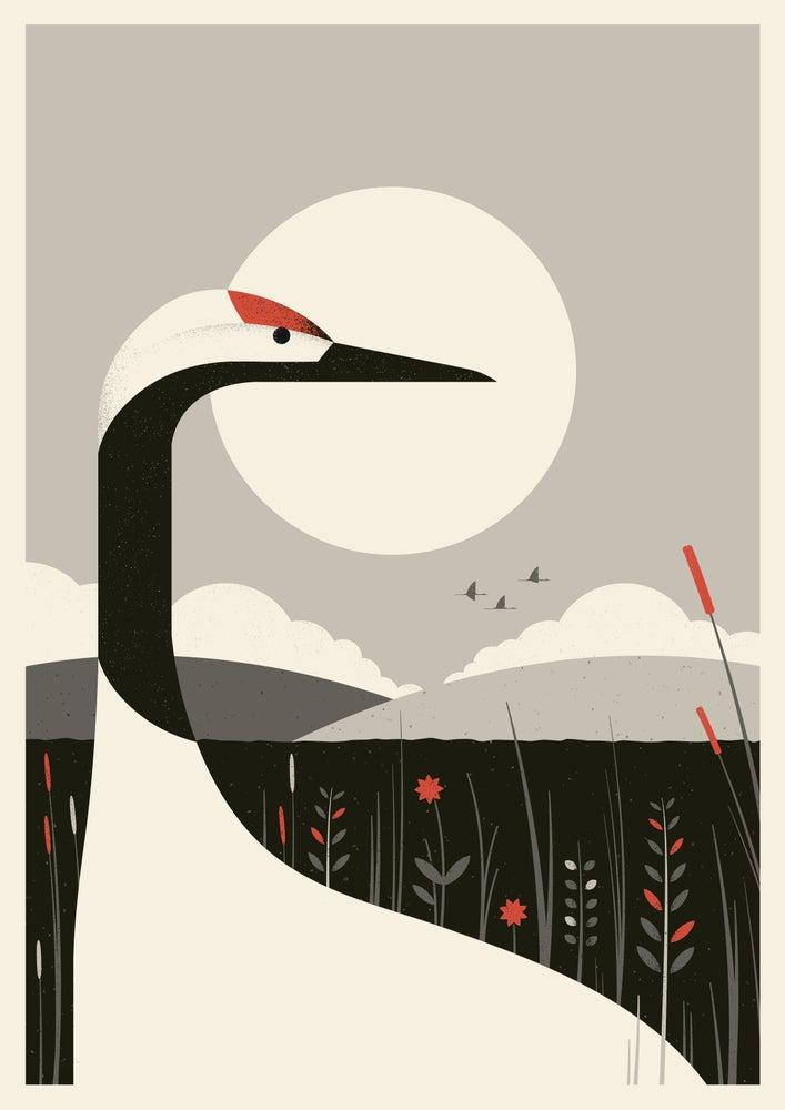 Image of Crane Artprint