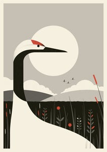 Image of Crane Artprint