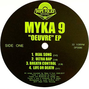 """Image of MYKA 9 """"OEUVRE"""" EP PRE-ORDER"""