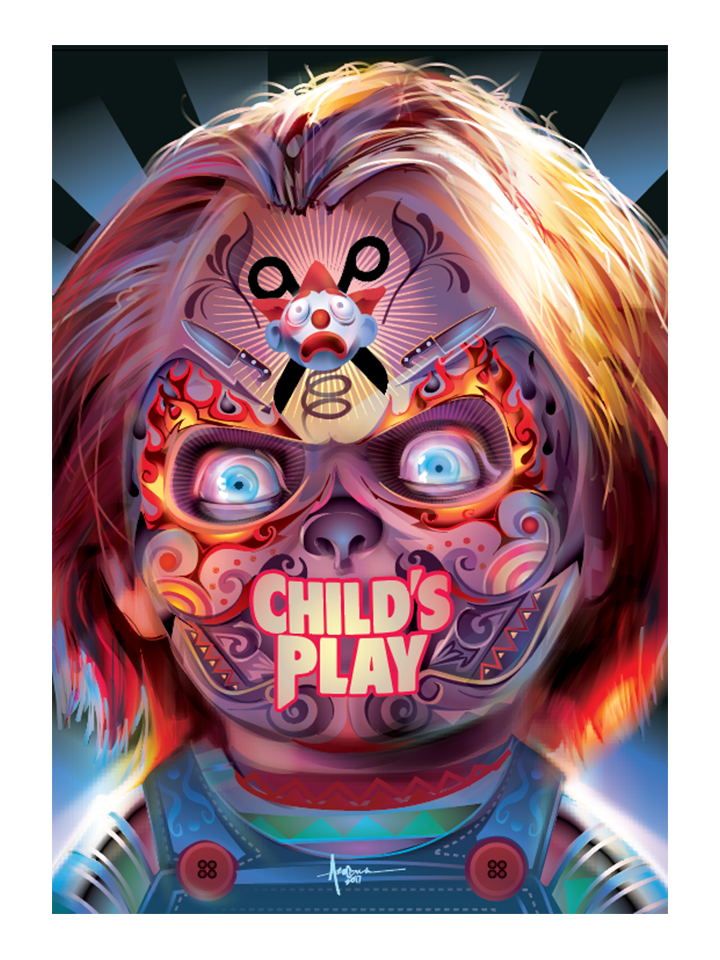 "Image of Child's Play- Official 18""x24""- Edition 15-2017"