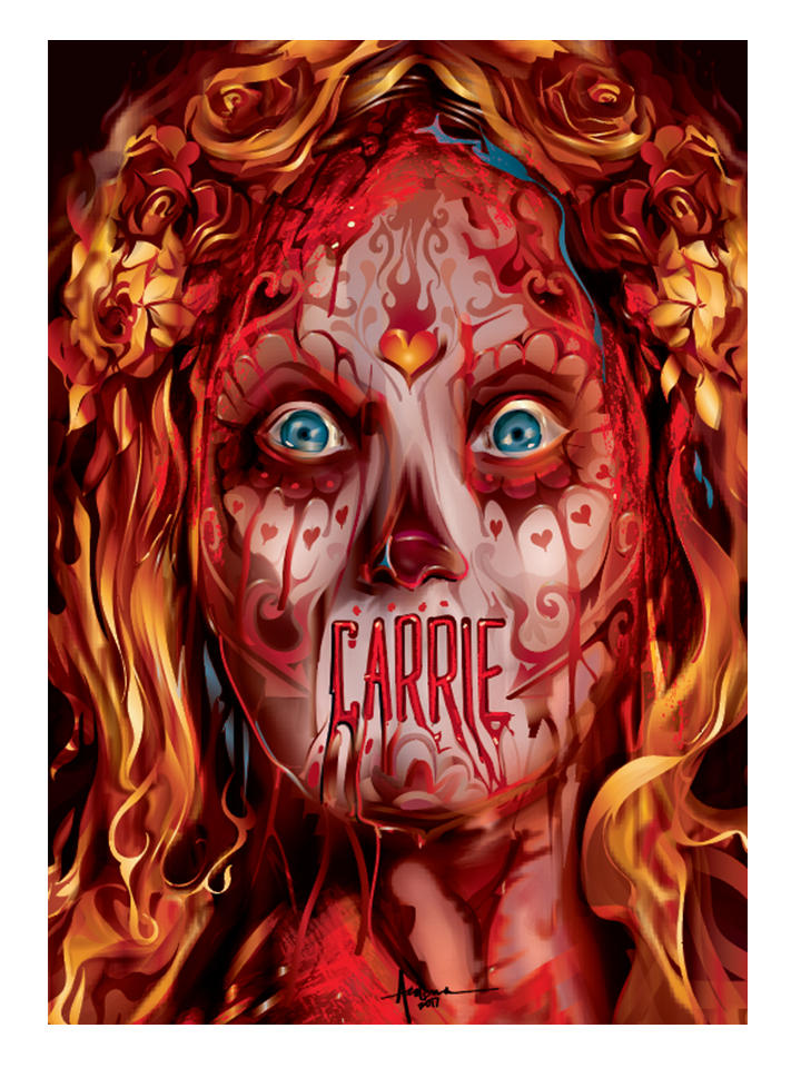 "Image of Carrie- 18""x24""-Edition of 15- 2017"