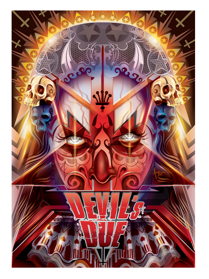 """Image of Devil's Due- 18""""x24""""- Edition of 15-2017"""