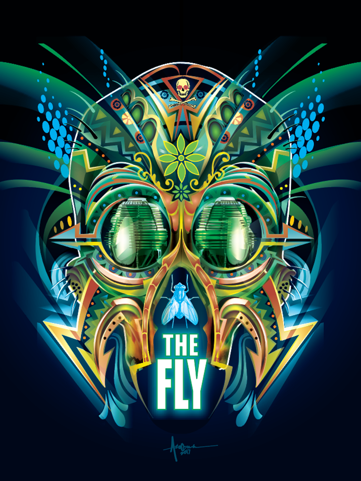 """Image of The Fly - 18""""x24"""" - Edition of 15 - 2017"""