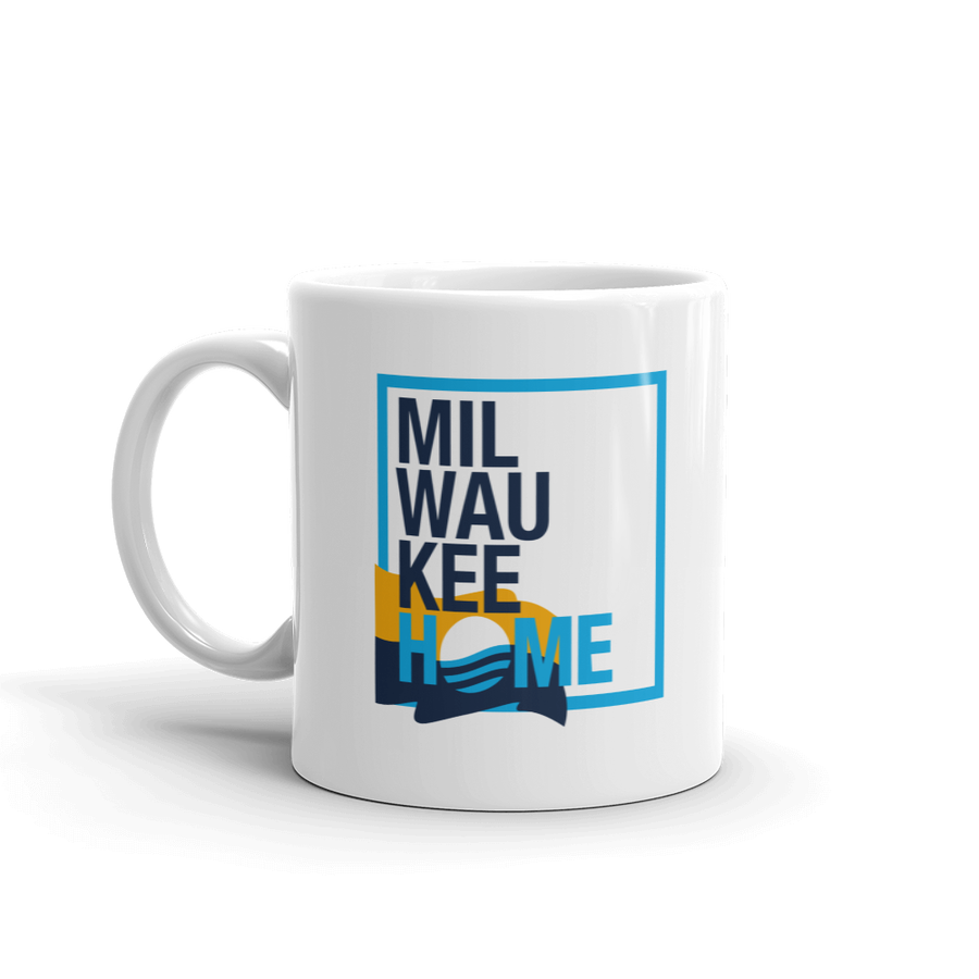 Image of MKEHOME MEETS MKEFLAG COFFEE MUG