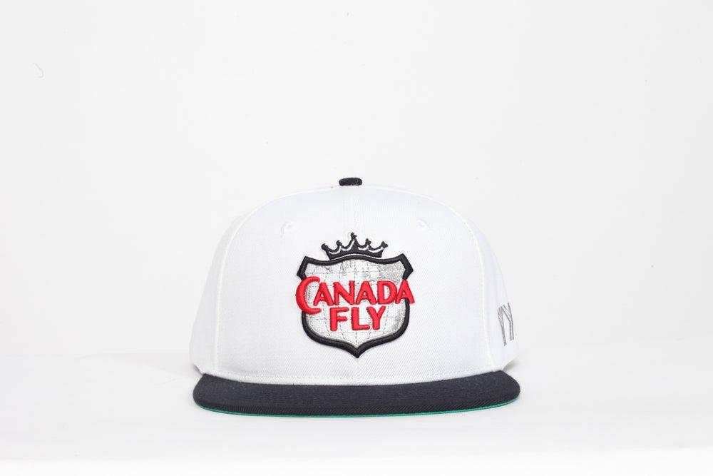 Image of Canada Fly Snapback / Black