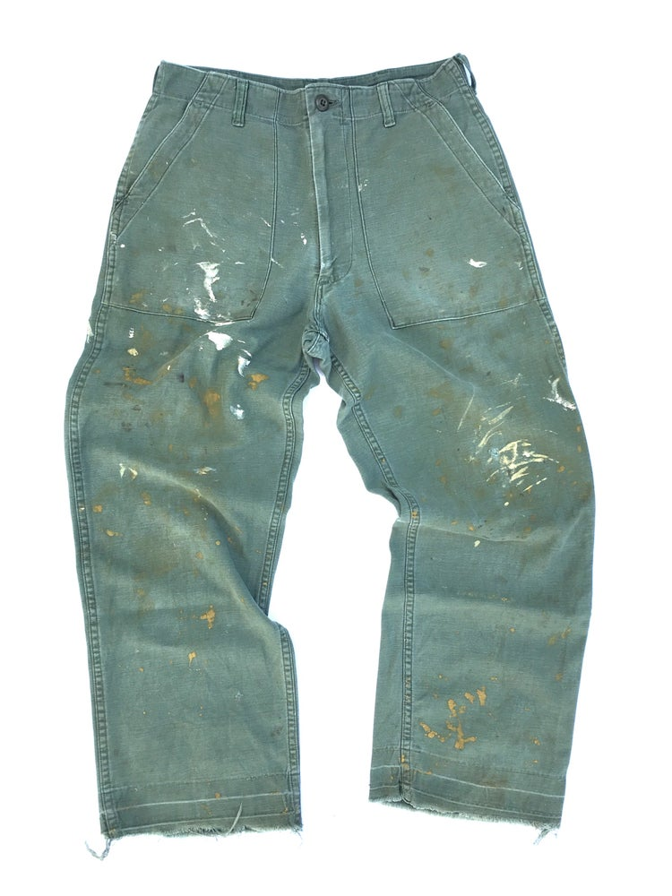 Image of US ARMY FATIGUES PANTS