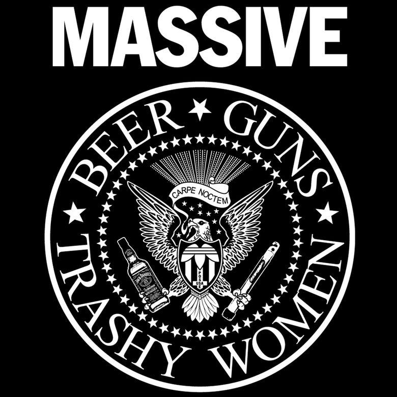 Image of PRESALE: Beer, Guns & Trashy Women - Tees & Zip Hoodies