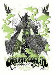 Image of ORANGE GOBLIN (Fall Of Summer 2017) screenprinted poster