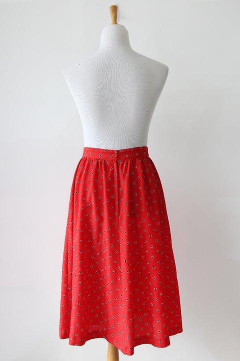 Image of SOLD Ladybug Never Changes Its Spots Skirt