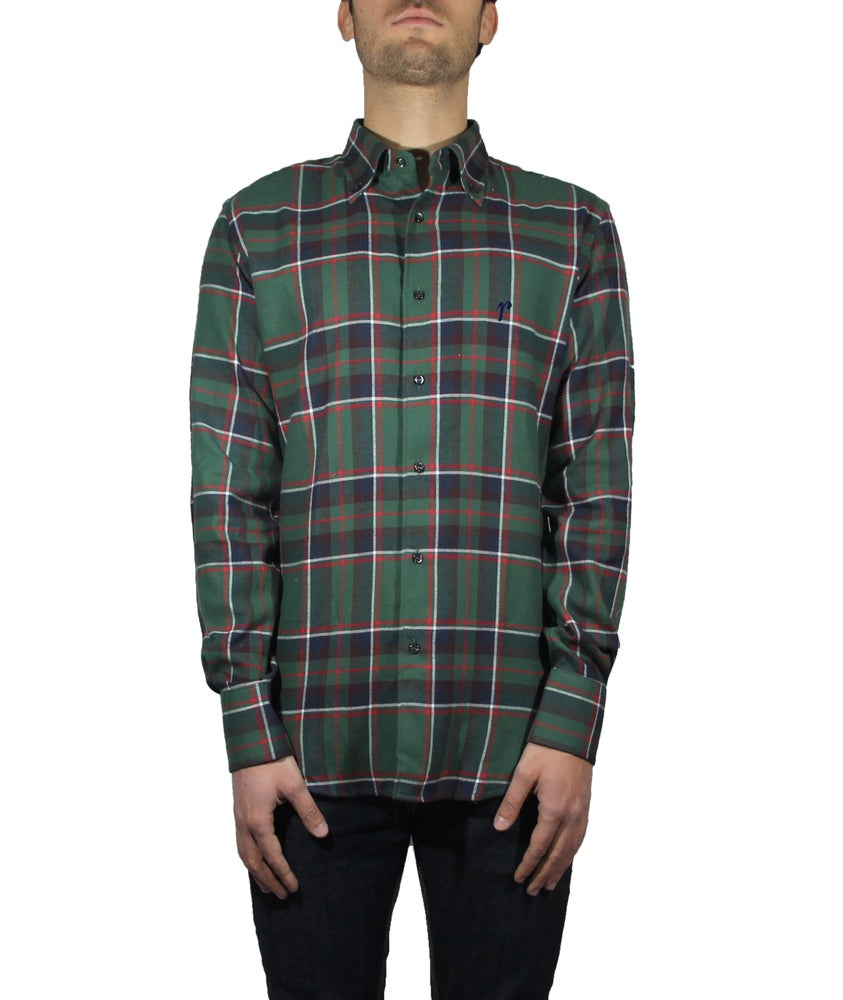 Image of WOOL CHECK SHIRT R71