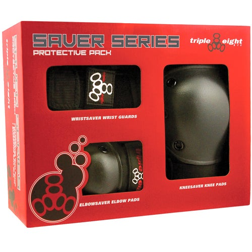 Image of TRIPLE EIGHT SAVER SERIES HIGH IMPACT 3-PACK