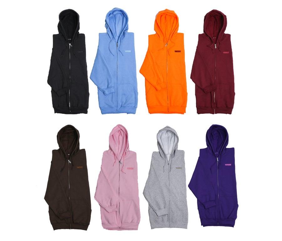 Image of SESH tonal zip up hoodies