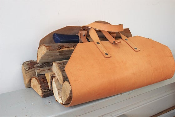 Image of LOG CARRIER - gunmetal