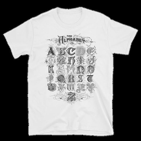 Image of Alphabet Shirt White