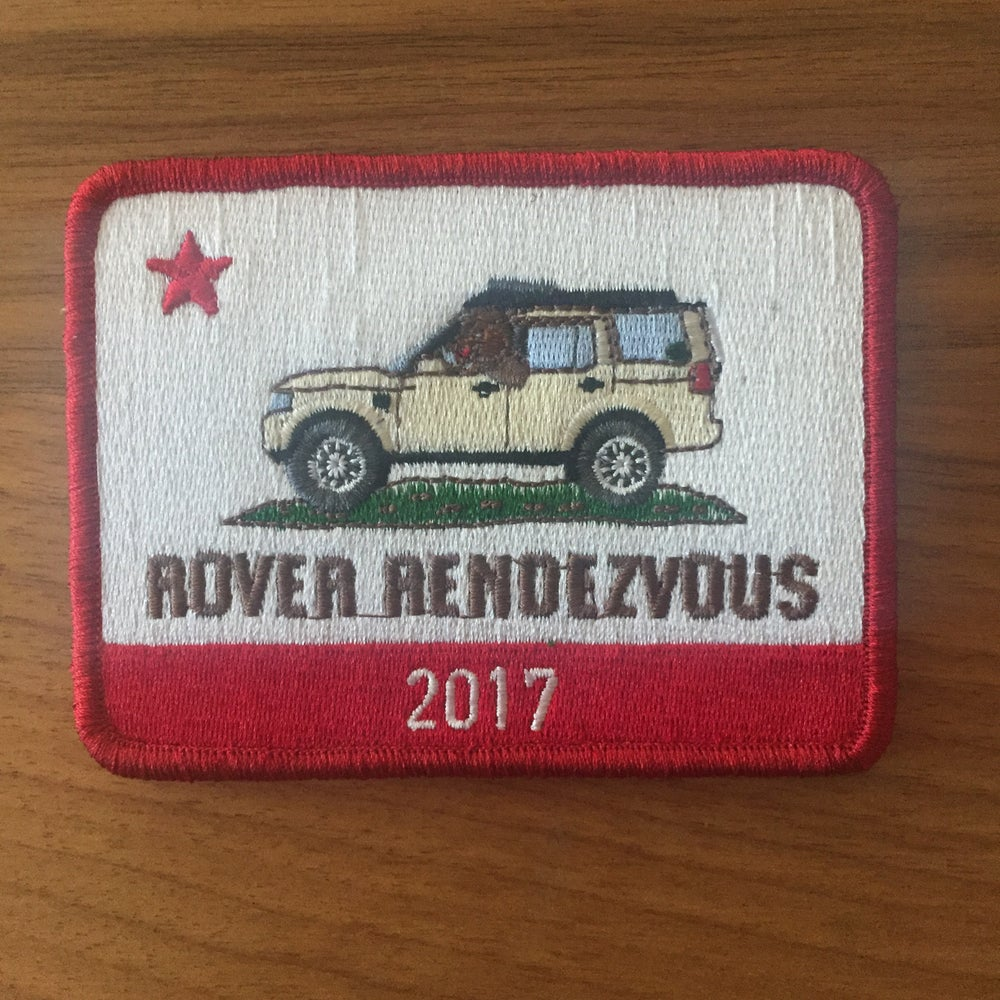 Image of Rover Rendezvous Patch