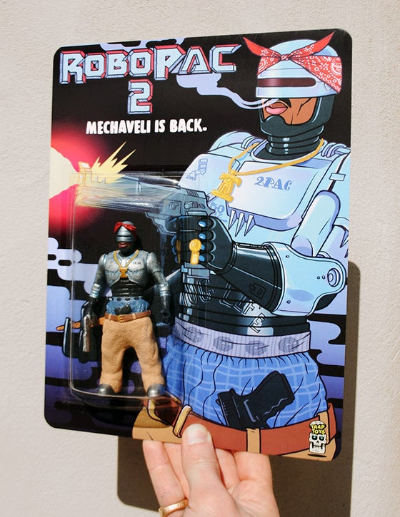 Image of 'RoboPac 2' bootleg action figure