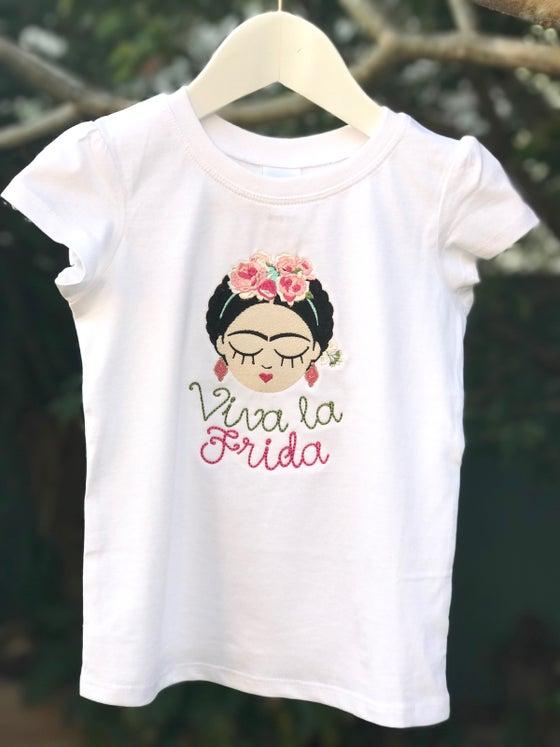 Image of Viva la Frida - Frida Kahlo T Shirt