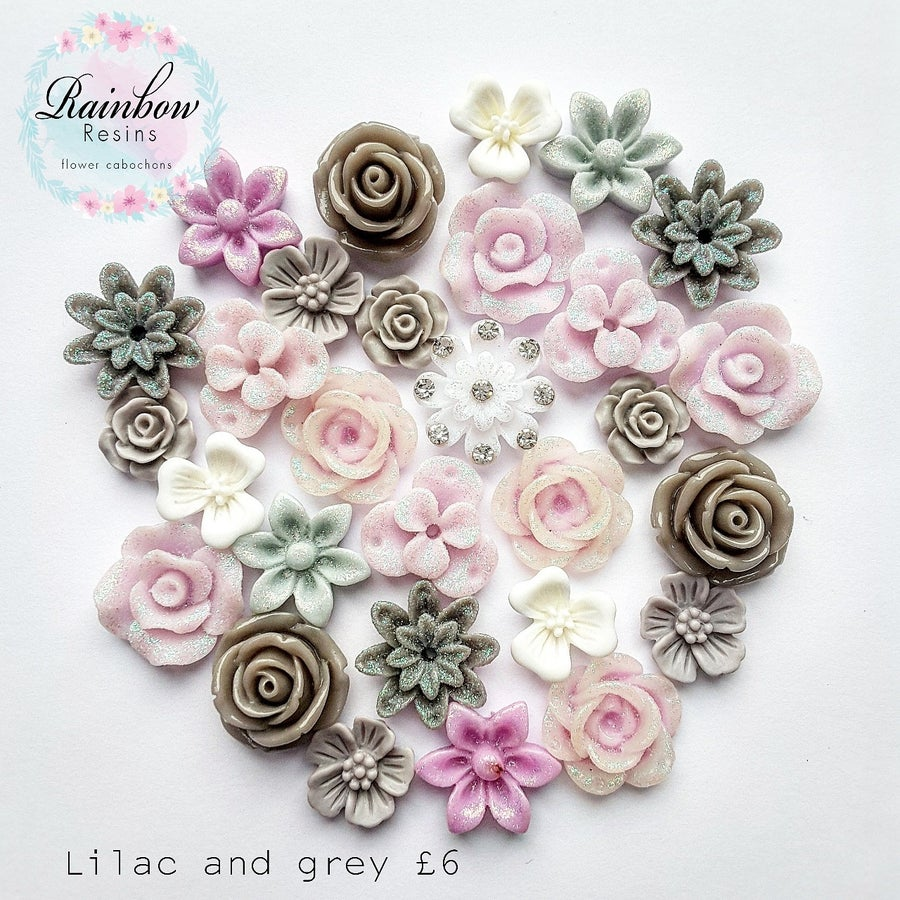 Image of Lilac and grey